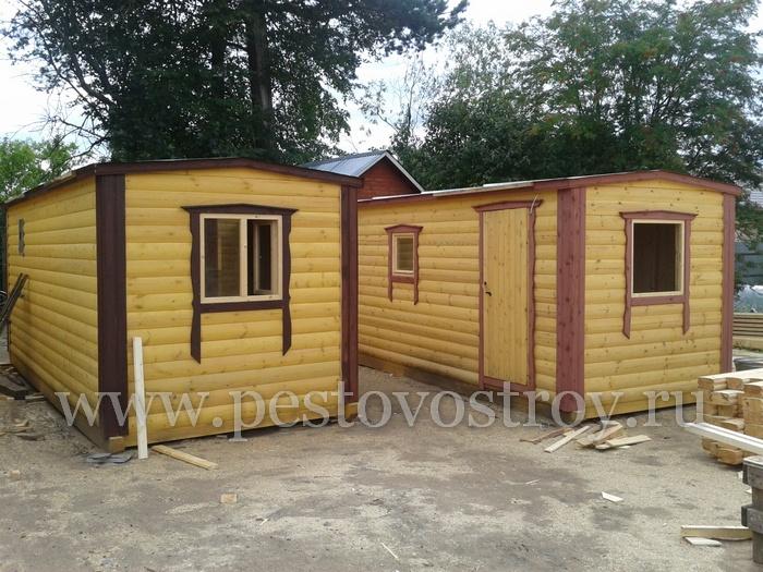 строительство мобильных, готовых, перевозных бань. Новгородская область