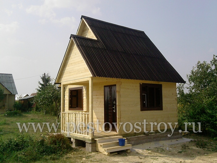 Брусовые дома и домики из бруса под ключ Новгород