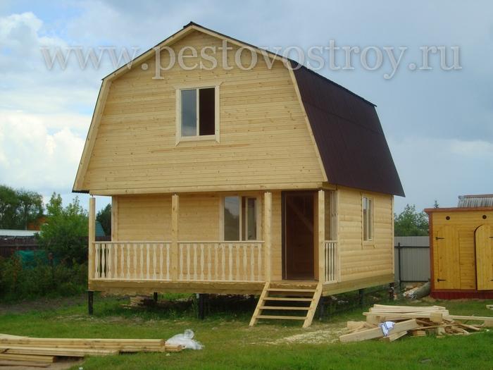 Строительство брусовых домов под ключ и под усадку недорого