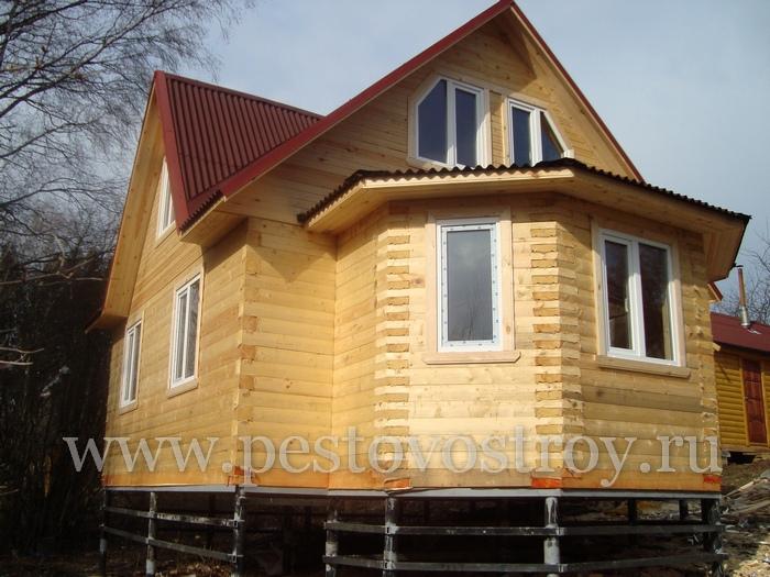 Фотографии загородных деревянных домов из бруса, коттеджи, деревянные дома фото