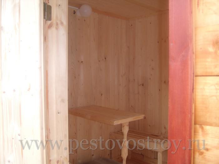 Фото отделка бани, перевозные бани внутри
